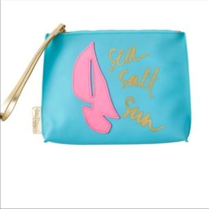 Lilly Pulitzer Jelly Wristlet Pouch